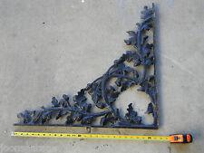 "(1) XL Antique Porch Bracket 25"" x 25"" Corbel Cast Iron Architectural Salvage"