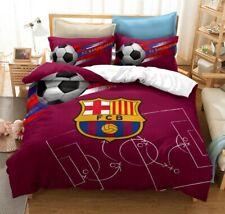 3D FC Barcelona Duvet Cover Queen Sports Comforter Cover PillowCase