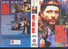 Don't Look Back, Eric Stoltz Video Promo Sample Sleeve/Cover #10355