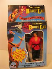 BRUCE LEE 1986 ACTION FIGURE 7 INCH MARTIAL ARTS LARGO MINT IN SEALED BOX 785-43