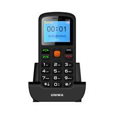Telefono Cellulare per Anziani con Tasto SOS DUAL SIM  Base di Ricarica e radio