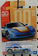 2006 CHEVY COVETTE VETTE 06 C6 8 BLUE COOL HW HOT WHEELS