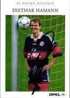 AK 4578 Dietmar Hamann, FC Bayern München alt mit Scan der Rückseite