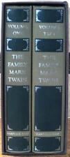 THE FAMILY MARK TWAIN ~ 2 VOLUME SLIPCASED SET ~ FIRST PRINTINGS ~ HARDCOVER