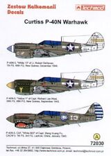 Techmod 1/72 Curtiss P-40N Warhawks # 72030