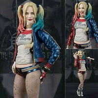 "Suicide Squad Harley Quinn 6"" Action Figure Model PVC Crazy Toys Collection Gift"