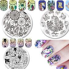 3Pcs Nail Art Stamping Plates Unicorn Dreamcatcher Image Templates  BORN PRETTY