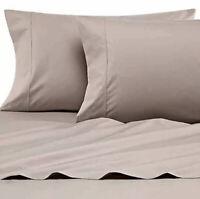 Heartland Home Grown USA Cotton 400 Thread Count Percale Twin Sheet Set Clay