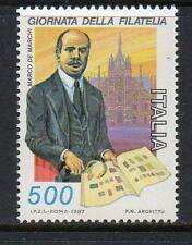 ITALIA Gomma integra, non linguellato 1987 sg1983 GIORNATA FRANCOBOLLO
