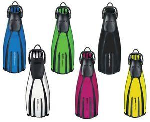 Mares Avanti Quattro + Open Heel Fins - Colour & Size Choice