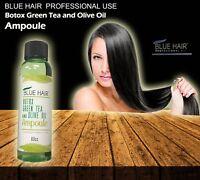 BLUE HAIR PROFESSIONAL GREEN TEA OLIVE OIL hair treatment  Ampoule (60 cc)