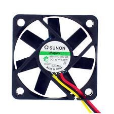 Sunon MB50101V2-000U-G99 50mm x 10mm 12v MagLev Fan Vapo Bearing 3 pin connector