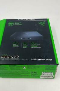 Razer Ripsaw HD Game Streaming Capture Card - 1080P FHD 60 FPS Recording