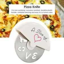 Stainless Steel Mini Pizza Knife Cutter Wheels Scissor Home Kitchen Baking Tools