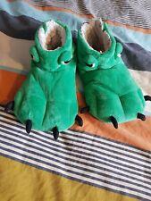 John Lewis Dinosaurio Monster Pies Zapatillas Tamaño 2 Dragón