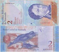 Venezuela 2 BOLIVARES 20/3/2007 - P 88a FDS / UNC