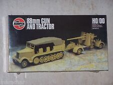 Maquette AIRFIX 1/76ème HO/00 88mm GUN AND TRACTOR