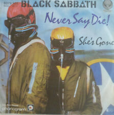 "7"" 1978 GERMAN PRESS SUPER RARE ! BLACK SABBATH : Never Say Die / MINT-?"