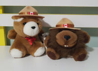 RCMP-GRC STUFFED ANIMAL HOUSE HOUSE OF QUALITY SOFT TOY PLUSH TOY CANADIAN!