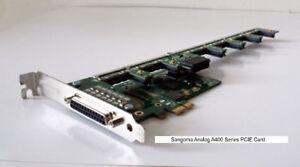 Sangoma A40506E 10FXS 12FXO analog card - PCIe