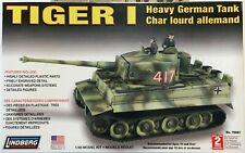 Lindberg 1/48 scale WWII German Tiger 1 Heavy Tank plastic model kit FSNIB