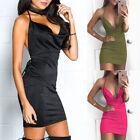 Bandage Bodycon Evening Party Cocktail Short Mini Dress Women Sleeveless USA