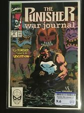 Punisher War Journal # 17 Comic Book Cover By Jim Lee 1990