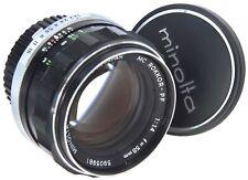 MINOLTA MC 58mm 1.4 Rokkor PF