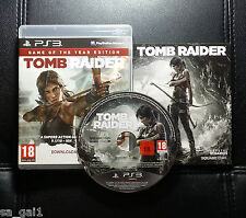 Tomb Raider Game Of The Year Edition (PlayStation 3, 2014) PS3 - Very Good cond