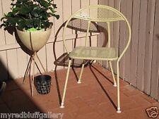 Mid Century Modern Folding Patio Chair Original Paint and Feet - Eames Era