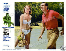 DR. NO LOBBY SCENE CARD # 5 POSTER JAMES BOND 1962 SEAN CONNERY URSULA ANDRESS