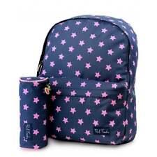 PAUL FRANK Stars Backpack and Pencil Case SET - Navy Schoolbag PFST8556NVY-SET