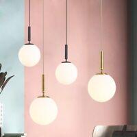 Glass Pendant Light Kitchen Modern Pendant Lighting Bar Lamp Room Ceiling Lights