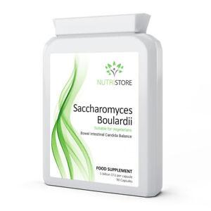Saccharomyces Boulardii with Olive Leaf Extract 90 Capsules