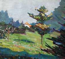 Berberich Fritz 1909-1990 Schnappach Saarland Expressionismus Tanne Landschaft