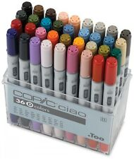 Too Copic Ciao Markers 36 Colors Set D New Free Shipping w/Tracking Manga Anime