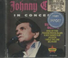 RARE JOHNNY CASH CD STARBURST IN CONCERT AUSTRALASIA 1994 22 TRACKS MINT