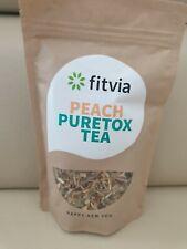 Fitvia Peach Puretox Tea / Tee Neu! Ungeöffnet!