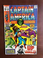 Captain America #130 (1970) 6.5 FN Marvel Key Issue Comic Bronze Age Hulk App
