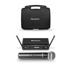 Numark WS100 Digital Wireless Microphone Mic UHF System w/ Free Padded Hard Case