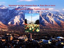 USPS First Day Ceremony Program UX312 University of Utah Post Card Architecture