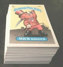 1986  86  Garbage Pail Kids GPK USA Series 5  Complete Set  88 cards Mint