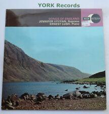 ECS 589 - SONGS OF ENGLAND - Jennifer Vyvyan / Ernest Lush - Ex Con LP Record