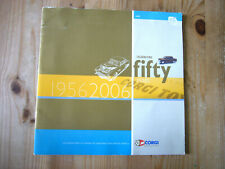 Corgi Classics 50th anniversary catalogue, limited edition, 2006, very good
