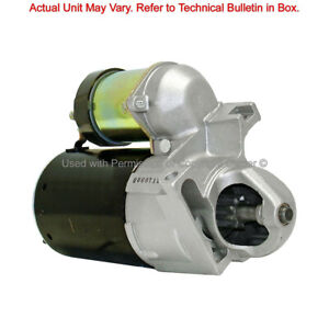 Remanufactured Starter  Quality-Built  6330MS