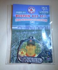 2005 Kevin Youkilis #20 Photo Pendant Boston Red Sox Silvertone Keychain FOB