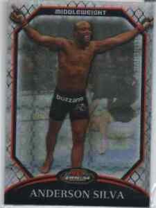 "2011 Finest UFC X-Fractors Anderson ""The Spider"" Silva #45 031/399"