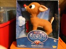 "NEW MEMORY LANE ""RUDOLPH THE RED NOSED REINDEER"" NEWBORN RUDOLPH ULTIMATE ACTION"