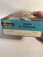 Vintage Athearn #1201 HO Scale GM&O 21190 SD 40' Box Car Kit Assembled in Box