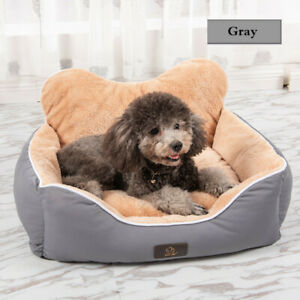Self-Warming Cat and Dog Bed Cushion for Medium Large Dogs (S-XL) D196
